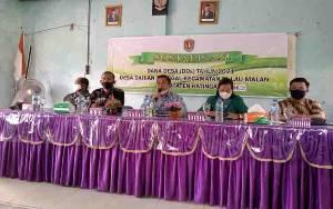 Kecamatan Pulau Malan Sosialisasi Dana Desa