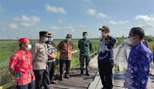 Anggaran Pembangunan Jembatan Jelai Capai Rp 6 Miliar Lebih