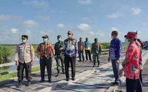 Bandan Jalan Arah Jembatan Jelai akan Dibangun Perusahaan