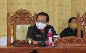 Ketua DPRD Gunung Mas Ajak Seluruh Pihak Sukseskan Pelaksanaan Vaksinasi Covid-19