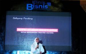 Ketua Dekranasda Kalteng Hadiri Ngopi Preneur Klinik Bisnis