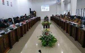 DPRD dan Pemkab Barito Utara Sepakat Laksanakan Bimtek dalam Rangka Perubahan RPJMD 2018-2023