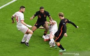 Belanda Sapu Bersih Fase Grup dengan Babat Makedonia Utara 3-0