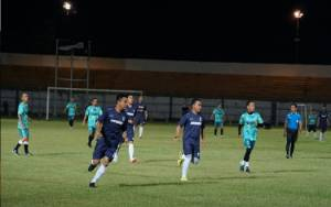 Laga Persahabatan: Pemko FC Tumbang 3-0 Vs Pemkab Banjar