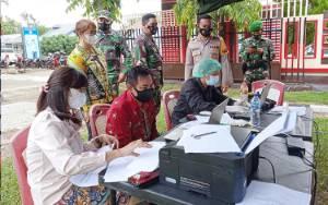 Polres Barito Timur dan Kodim 1012 Buntok Buka Sentra Vaksinasi untuk Dukung 1 Juta Vaksin per Hari