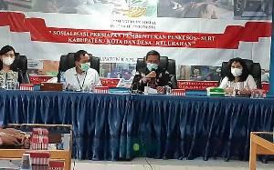 Kabupaten Kapuas Jadi Percontohan Pembentukan Puskesos dan SLRT di Indonesia