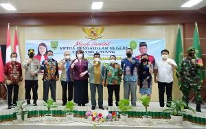 Ini Harapan Bupati Barito Timur kepada Ketua Pengadilan Negeri yang Baru