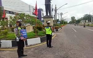Polisi Ajak Pengendara Disiplin Prokes