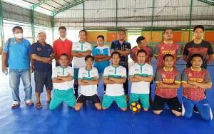 PWI Barito Utara dan Murung Raya Tanding Futsal Persahabatan