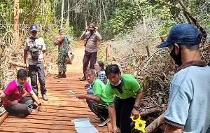 Pemkab Murung Raya Ikuti Rakor Virtual Terkait Dana Desa