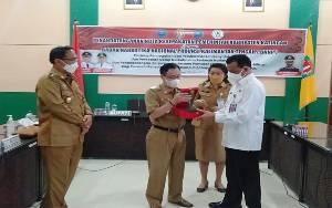 Pemkab Katingan dan BNNP Kalteng Tandatangani Nota Kesepakatan Pemberantasan Narkoba