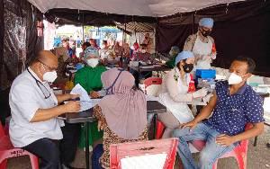 Polres Barito Timur Laksanakan Vaksinasi Rutin Rabu dan Jumat