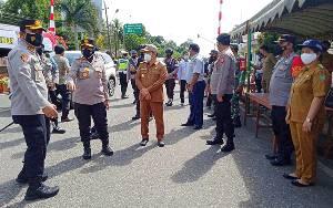 Bupati Barito Timur Ingatkan Tidak Lengah Meski Positif Covid-19 Sisa 8
