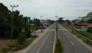 Pantang Pamali Cegah Corona di Lamandau, Jalanan Sepi dan Pintu Rumah Warga Tertutup Rapat