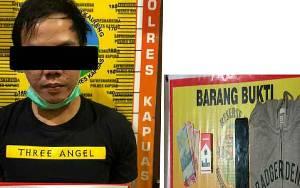 Hasil Pengembangan, Satresnarkoba Polres Kapuas Tangkap Seorang Pria karena Sabu
