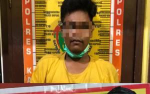 Lagi, Satresnarkoba Polres Kapuas Amankan Seorang Budak Sabu Disebuah Barak