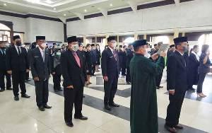 107 Pejabat Lingkup Pemkab Barito Timur Dilantik