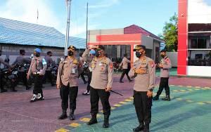Kapolda Kalteng Tinjau Rencana Lanjutan Pembangunan Rawat Inap Lantai II RS Bhayangkara