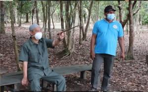 Bupati Seruyan Kunjungi Objek Wisata Danau Seluluk