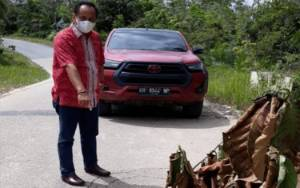 Anggota DPRD Katingan Ini Soroti Kerusakan Jembatan Sei Saki