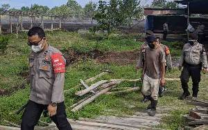 Pelaku Pembakar Lahan di Sampit Mengaku Diupah Rp 700 Ribu