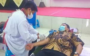 Kejati Kalteng Gelar Donor Darah Sambut Hari Bakti Adhyaksa