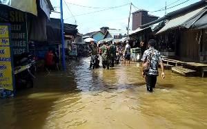 Puluhan Desa di Katingan Kebanjiran