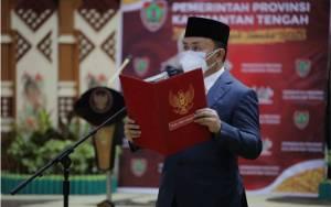 Gubernur Kalteng Ingatkan Taty untuk Kerja Profesional Penuh Integritas