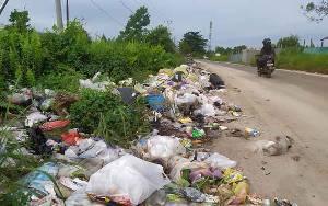 Ini Tanggapan Dinas Lingkungan Hidup Kotim Terkait Tempat Pembuangan Sampah Liar di Sampit