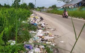 Banyak Bermunculan Tempat Pembuangan Sampah Liar di Sampit