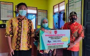 Waket II DPRD Kobar Monitoring PPKM Mikro di Desa, Berikut Hasilnya