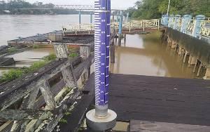 Debit Air Sungai di Wilayah Kobar Normal Meski Curah Hujan Meningkat