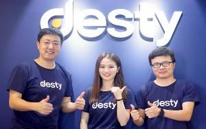 Startup Desty Dapat Suntikan 3,2 Juta Dolar AS