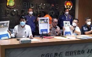 Polda Metro Tangkap Sarjana Komputer Pemalsu Situs Kemensos