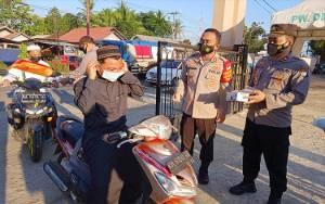 Kapolres Barito Timur Sebar Personel di 33 Masjid untuk Ingatkan Protokol Kesehatan