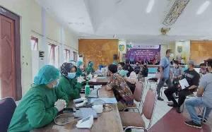 Sektor Jasa Keuangan Kalteng Laksanakan Vaksinasi Percepat Herd Immunity