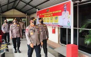 Kapolda Kalteng Apresiasi Nakes RS Bhayangkara Berjuang Tangani Covid-19
