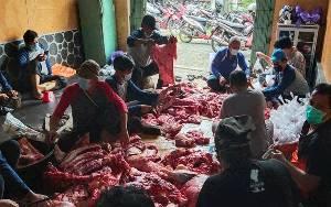 Momen Idul Adha, RSUD Kapuas Potong 10 Hewan Kurban