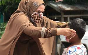 Orangtua Diminta Edukasi Anak untuk Memakai Masker