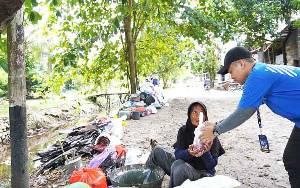 CEO Klinik Bisnis, Monica Putri Rasyid Berkurban untuk Pejuang Ekonomi Tangguh Kalteng