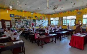 Pascamusibah Kebakaran SDN 4 Ketapang Belajar Normal