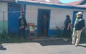FBN Palangka Raya Bagikan Paket Sembako untuk Warga Isolasi Mandiri