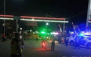 Wakapolres Barito Selatan Pimpin Patroli PPKM
