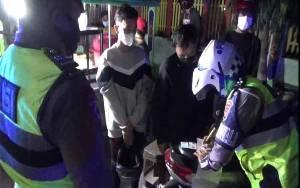Sejumlah Kendaraan Ditilang karena akan Balapan Liar di Jalan Kota Sampit