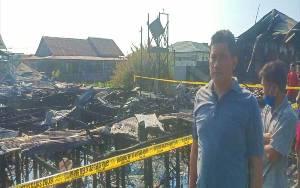 Puluhan Rumah dan 6 Barak Terbakar di Palangka Raya