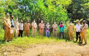 Pemkab Barito Timur Ukur Batas Tanah Stadion untuk Amankan Aset Daerah