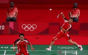 Hendra/Ahsan Juarai Grup D Menuju Perempat Final Olimpiade Tokyo
