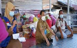 Dinas Dukcapil Prioritaskan Pengurusan Dokumen Kependudukan Korban Kebakaran di Mendawai