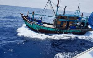 KKP Tangkap 125 Kapal Ikan Hingga Juli 2021