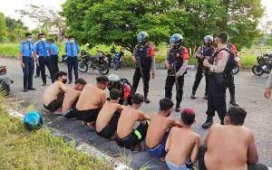 Puluhan Remaja Terlibat Balapan Liar di Palangka Raya Diamankan